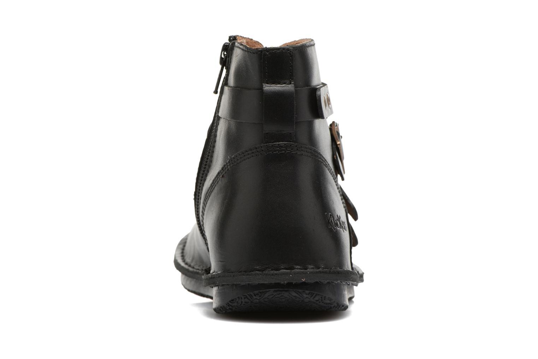 Bottines et boots Kickers WABOOT Noir vue droite