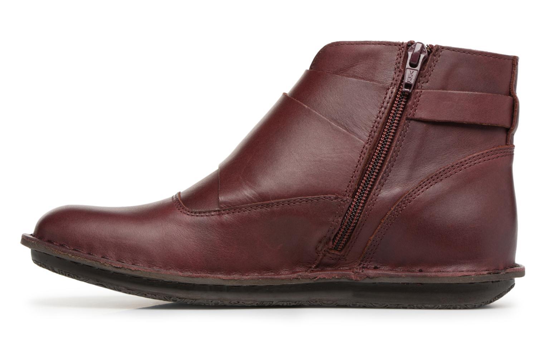 Bottines et boots Kickers WABOOT Bordeaux vue face