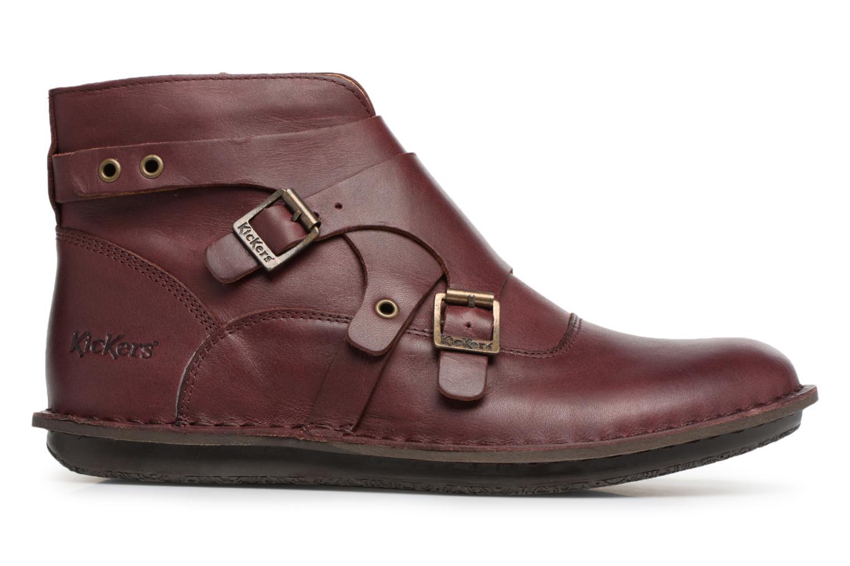 Bottines et boots Kickers WABOOT Bordeaux vue derrière
