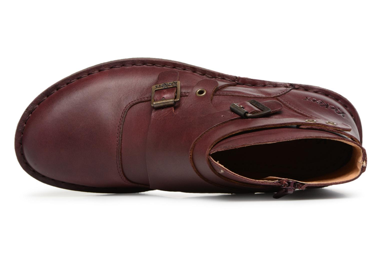 Bottines et boots Kickers WABOOT Bordeaux vue gauche