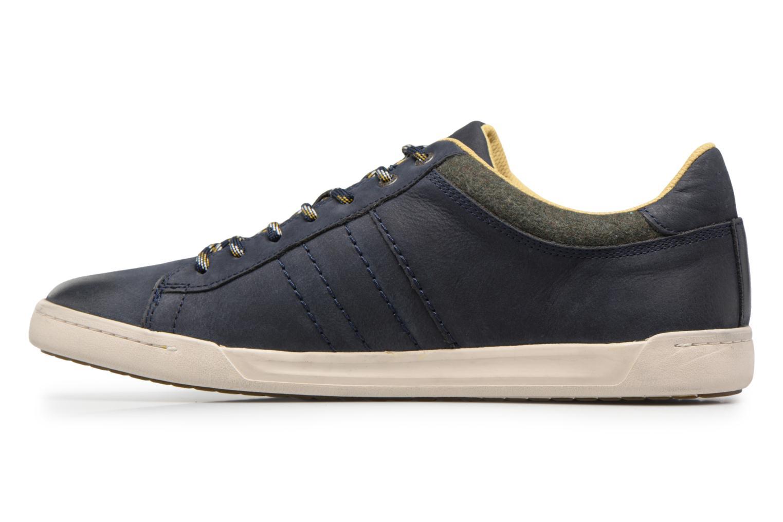 Sneaker Kickers CHRISTO blau ansicht von vorne