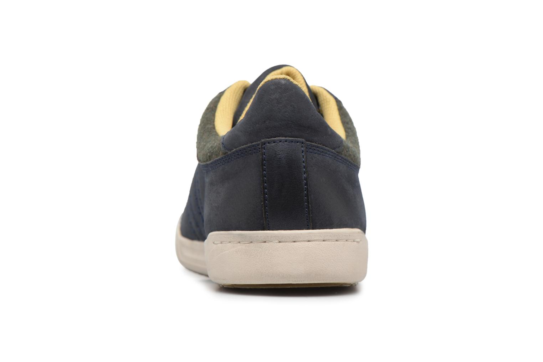 Sneaker Kickers CHRISTO blau ansicht von rechts