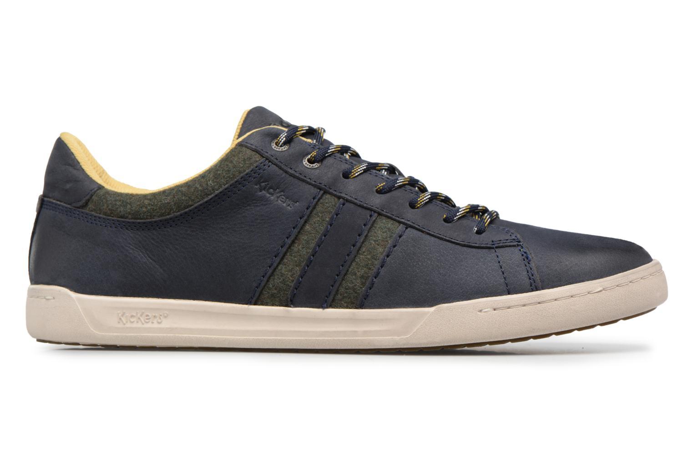 Sneaker Kickers CHRISTO blau ansicht von hinten