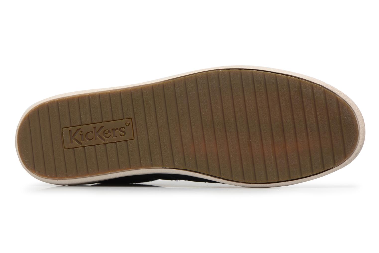 Sneaker Kickers CHRISTO blau ansicht von oben