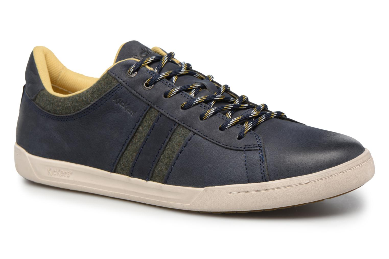 Sneaker Kickers CHRISTO blau detaillierte ansicht/modell