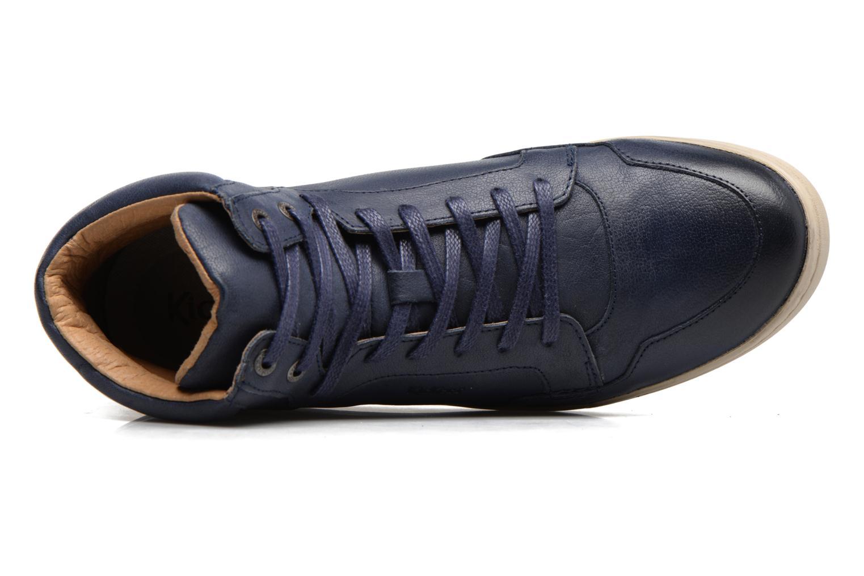 Baskets Kickers CROSSOVER Bleu vue gauche