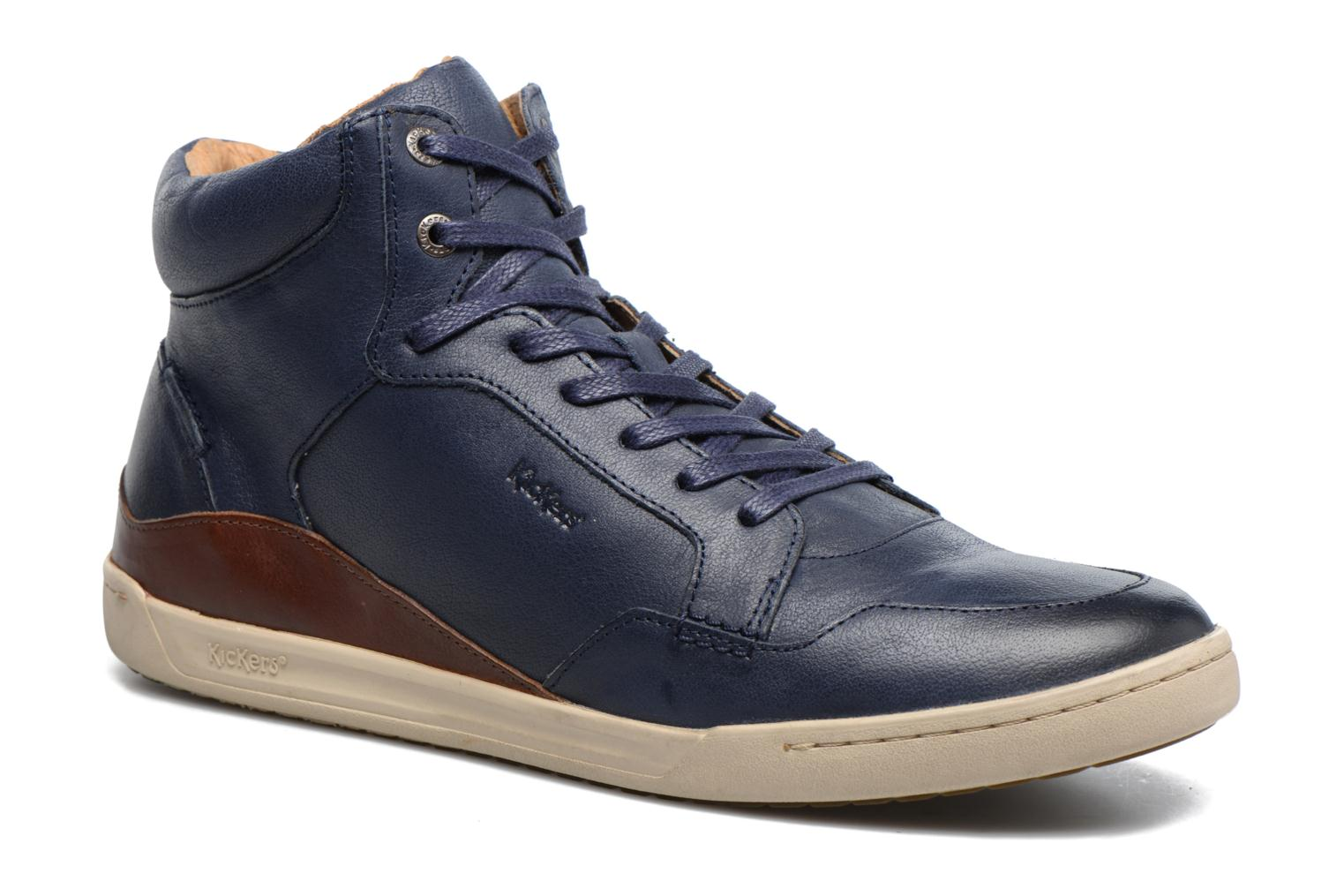 Sneakers Kickers CROSSOVER Blauw detail