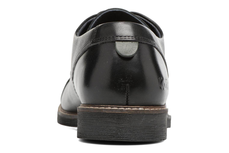 Chaussures à lacets Kickers MATYS Noir vue droite