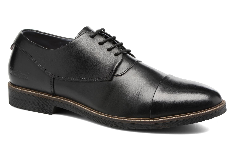 Chaussures à lacets Kickers MATYS Noir vue détail/paire