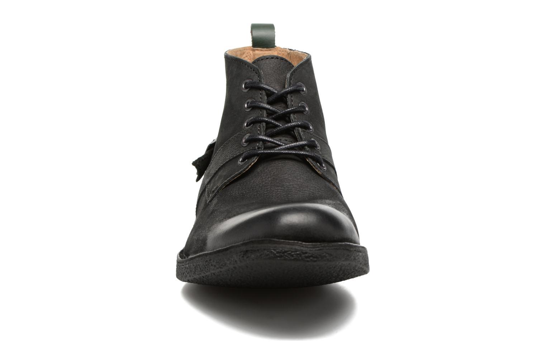 Bottines et boots Kickers MIST SAM Noir vue portées chaussures