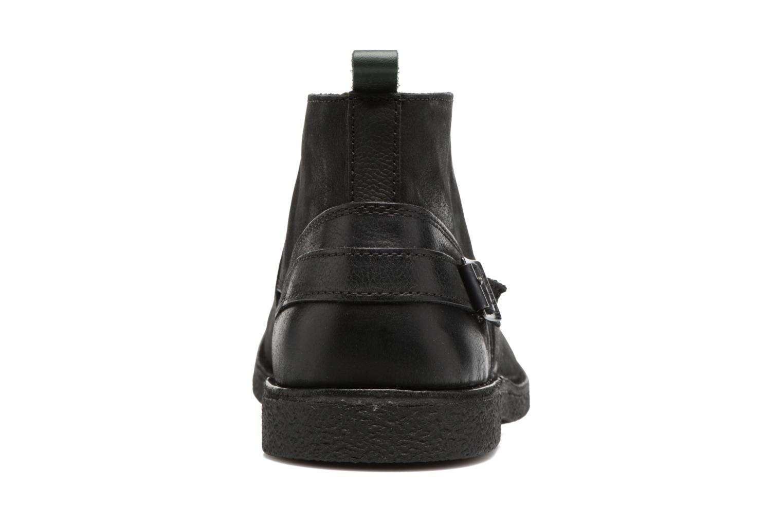 Bottines et boots Kickers MIST SAM Noir vue droite