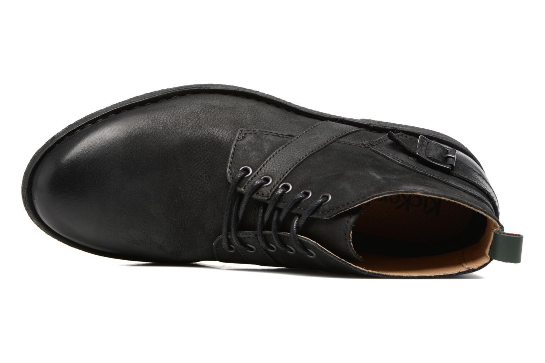 Bottines et boots Kickers MIST SAM Noir vue gauche