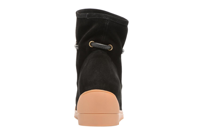 Bottines et boots Shoe the bear Line Noir vue droite