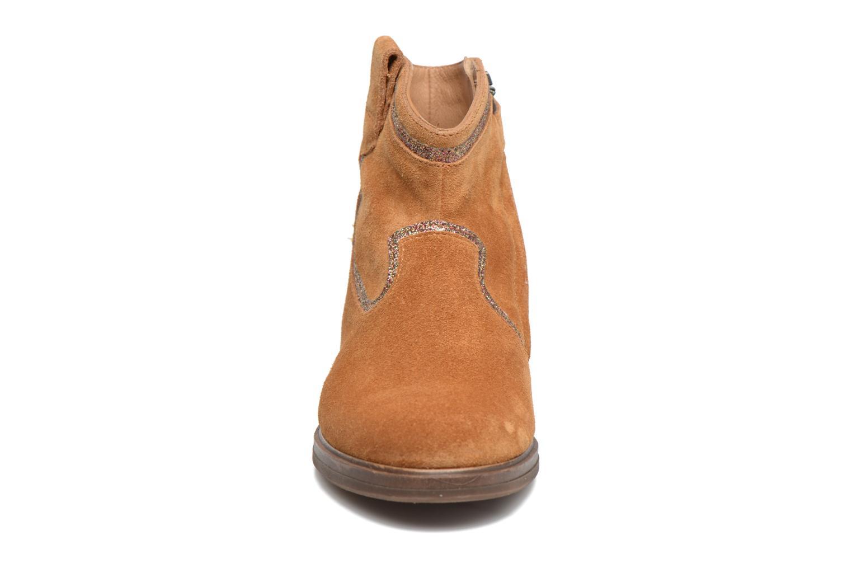 Bottines et boots Pom d Api Hobo Glitter Marron vue portées chaussures