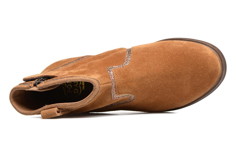 Bottines et boots Pom d Api Hobo Glitter Marron vue gauche
