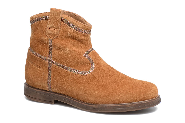 Bottines et boots Pom d Api Hobo Glitter Marron vue détail/paire