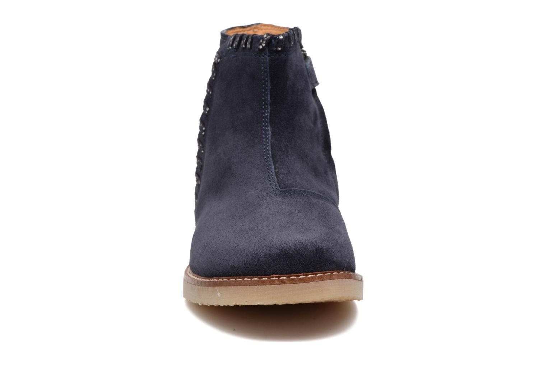 Bottines et boots Pom d Api Patex Braided Bleu vue portées chaussures