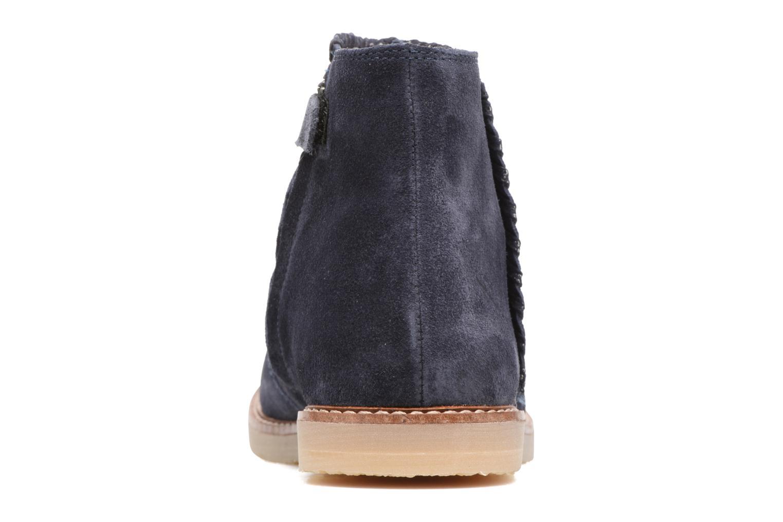 Bottines et boots Pom d Api Patex Braided Bleu vue droite