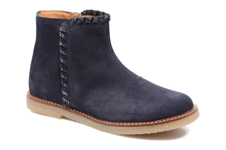 Bottines et boots Pom d Api Patex Braided Bleu vue détail/paire