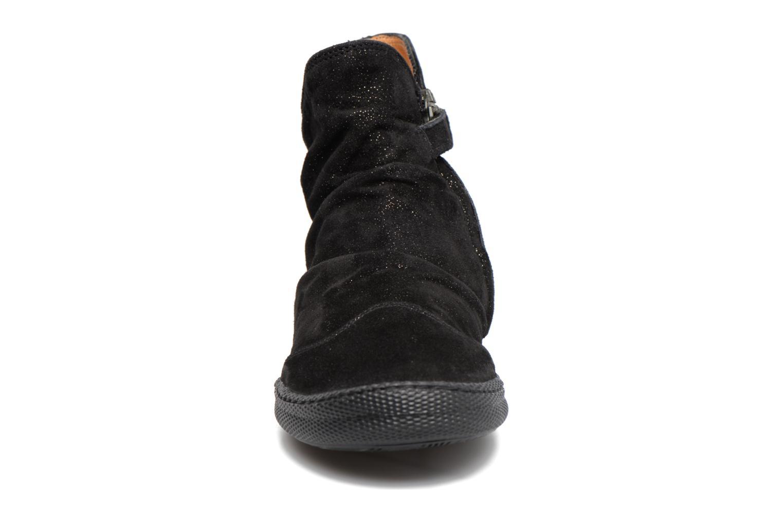 Bottines et boots Pom d Api New School Pleats Noir vue portées chaussures