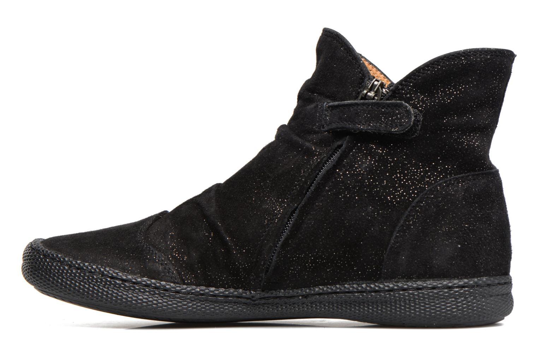 Bottines et boots Pom d Api New School Pleats Noir vue face