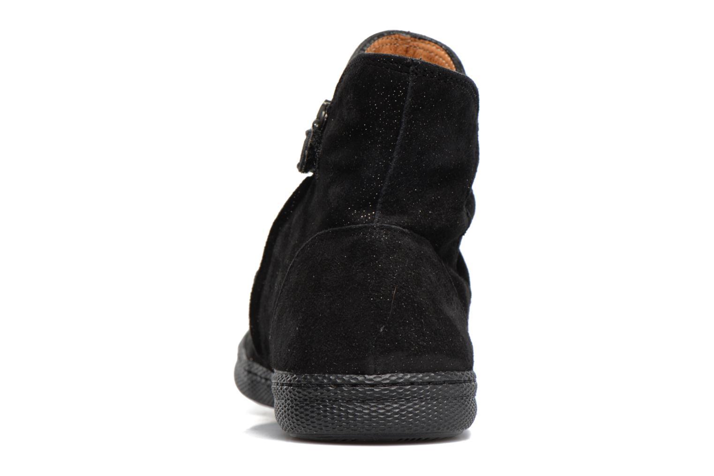 Bottines et boots Pom d Api New School Pleats Noir vue droite