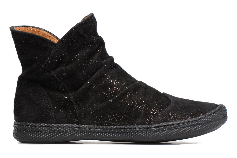 Bottines et boots Pom d Api New School Pleats Noir vue derrière