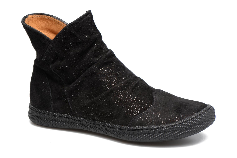 Bottines et boots Pom d Api New School Pleats Noir vue détail/paire