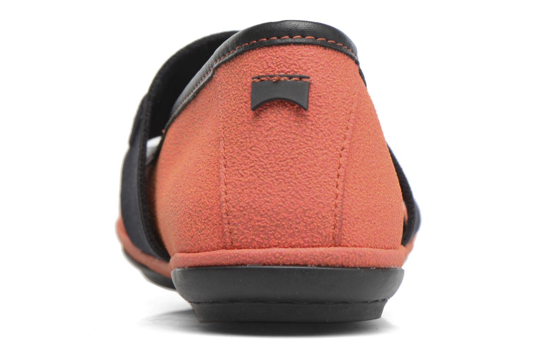 Ballerines Camper TWS K200144 Orange vue droite