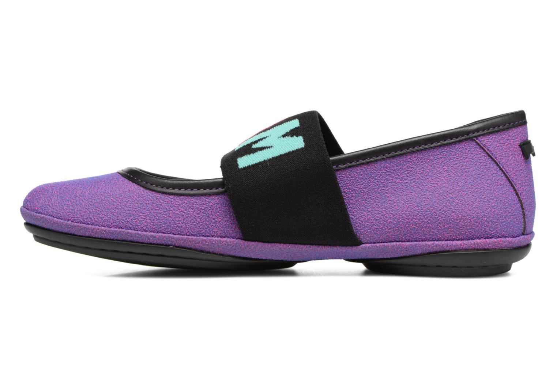 Ballet pumps Camper TWS K200144 Purple front view