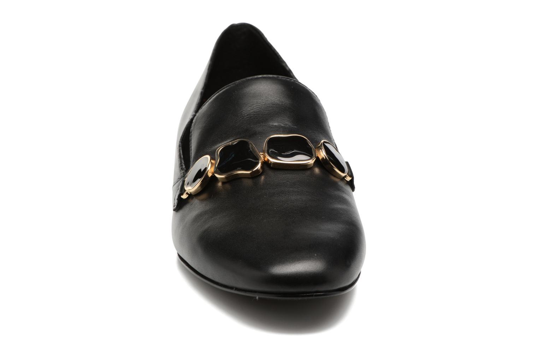 Mocassins What For Baptiste Noir vue portées chaussures