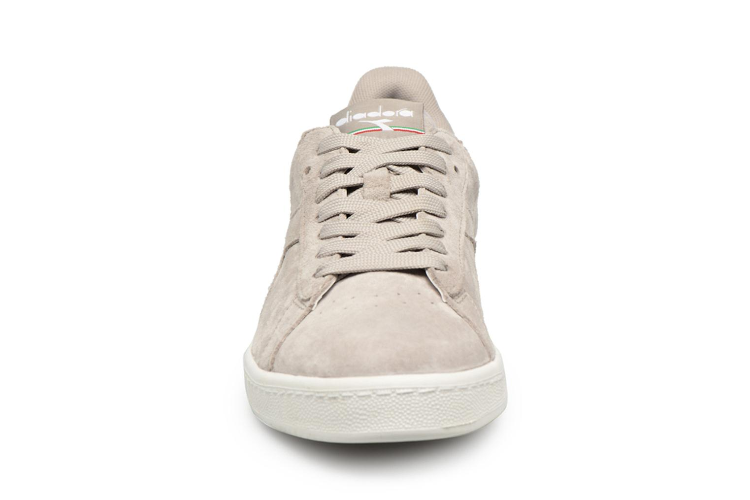 Trainers Diadora GAME LOW S Grey model view