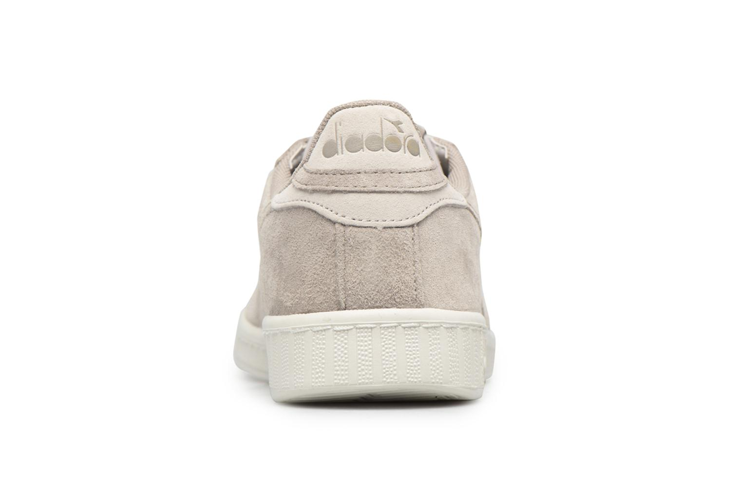 Trainers Diadora GAME LOW S Grey view from the right