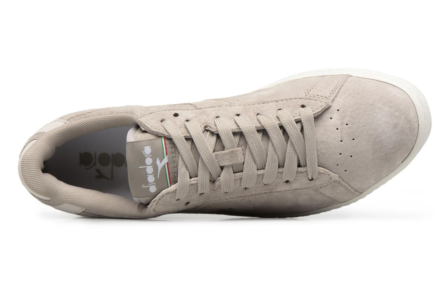 Trainers Diadora GAME LOW S Grey back view