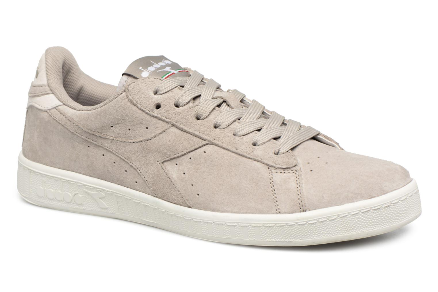 Trainers Diadora GAME LOW S Grey detailed view/ Pair view