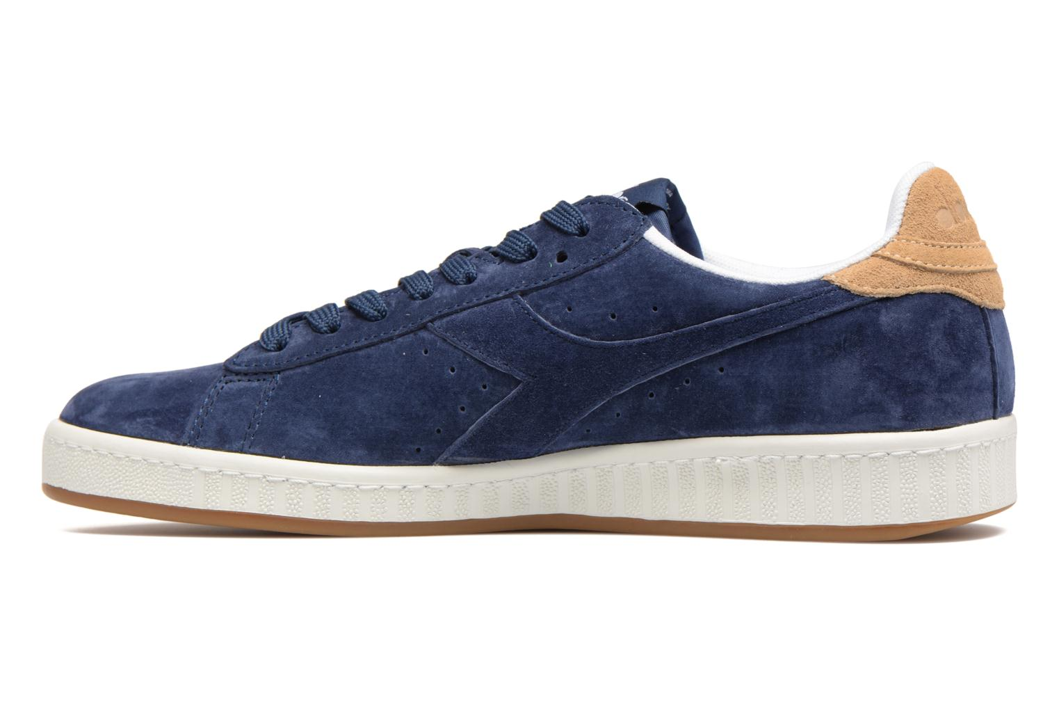 Trainers Diadora GAME LOW S Blue front view