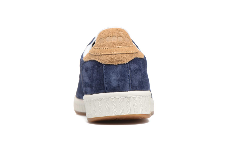 Sneaker Diadora GAME LOW S blau ansicht von rechts