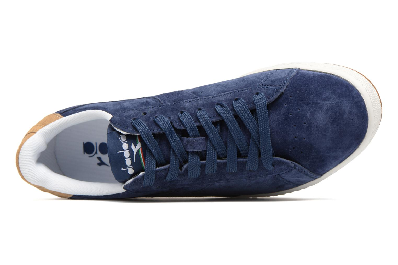 Trainers Diadora GAME LOW S Blue view from the left