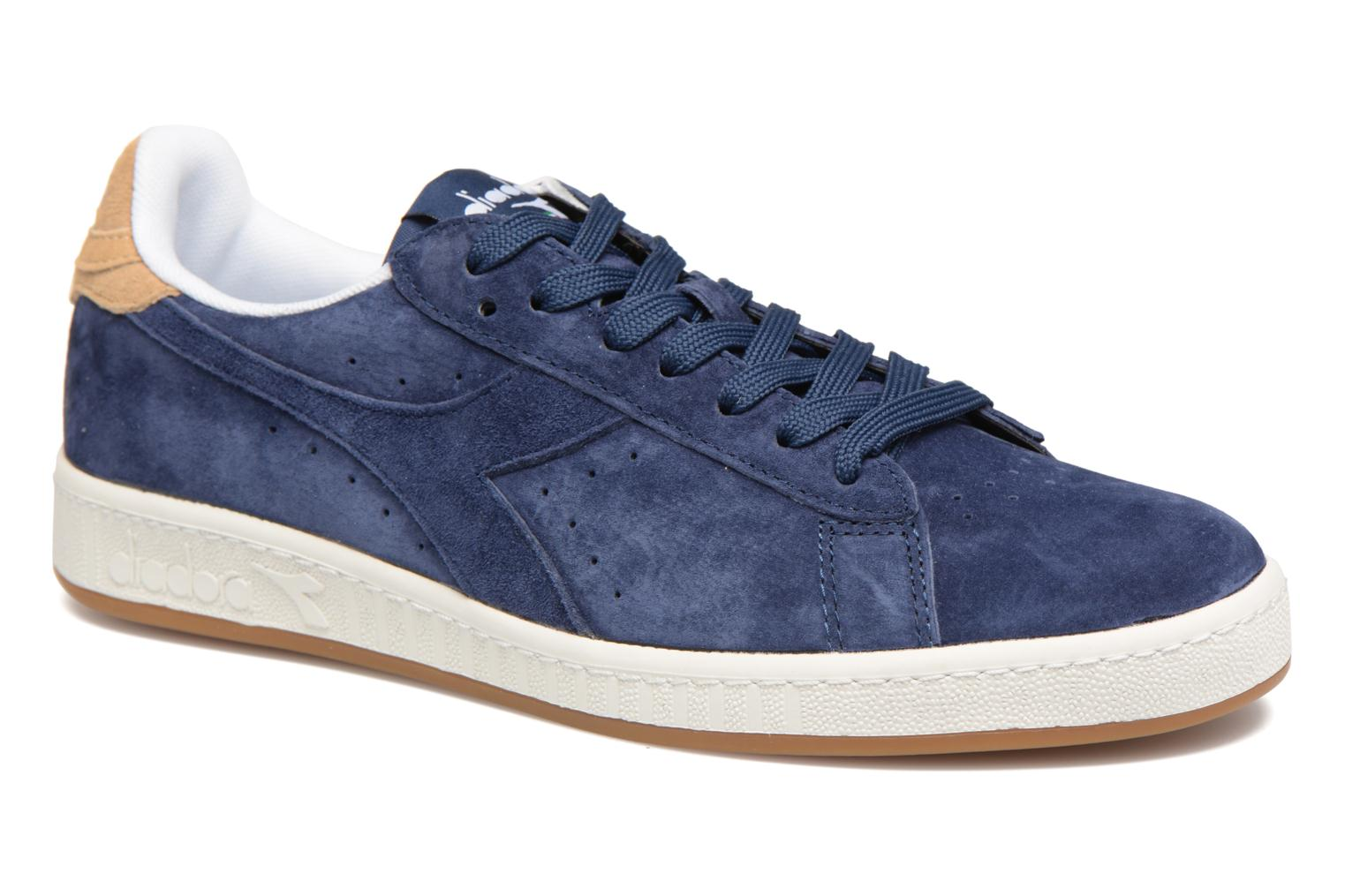 Trainers Diadora GAME LOW S Blue detailed view/ Pair view