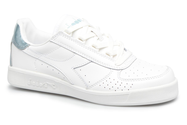 Baskets Diadora B.ELITE W Blanc vue détail/paire