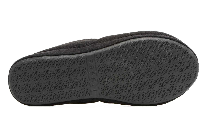 Pantofole Esprit STELLA BALLERINA Nero immagine dall'alto