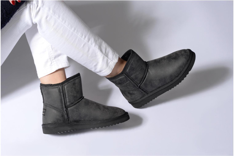 Stiefeletten & Boots Esprit UMA VINTAGE schwarz ansicht von unten / tasche getragen