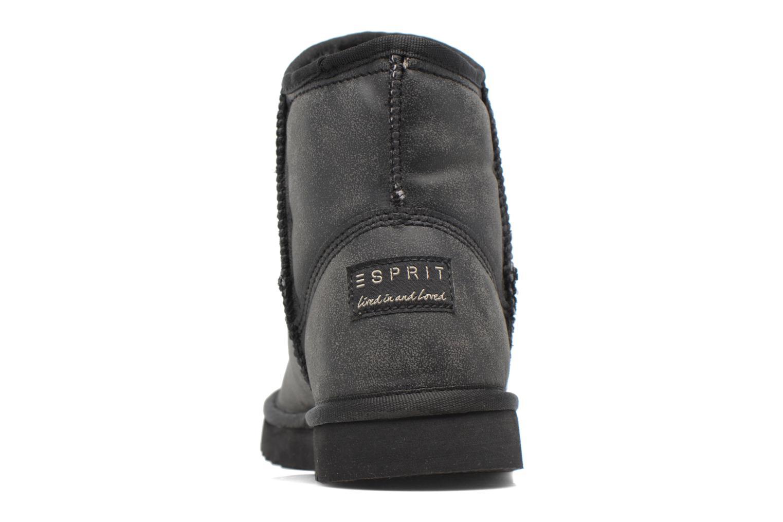 Boots en enkellaarsjes Esprit UMA VINTAGE Zwart rechts