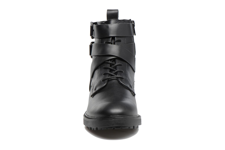 Bottines et boots Esprit COCO STRAP BOOTIE Noir vue portées chaussures