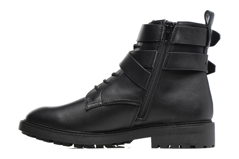 Boots en enkellaarsjes Esprit COCO STRAP BOOTIE Zwart voorkant
