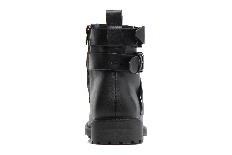 Boots en enkellaarsjes Esprit COCO STRAP BOOTIE Zwart rechts