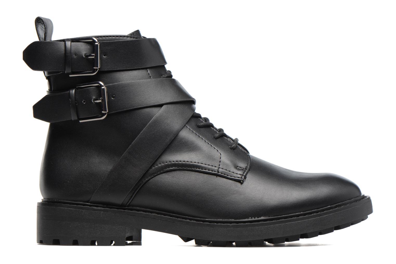 Boots en enkellaarsjes Esprit COCO STRAP BOOTIE Zwart achterkant