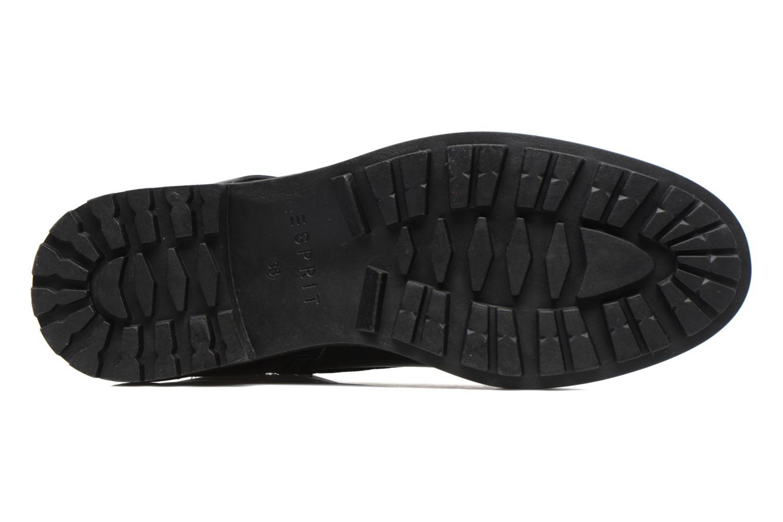 Bottines et boots Esprit COCO STRAP BOOTIE Noir vue haut