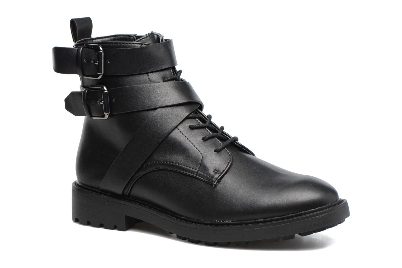 Bottines et boots Esprit COCO STRAP BOOTIE Noir vue détail/paire