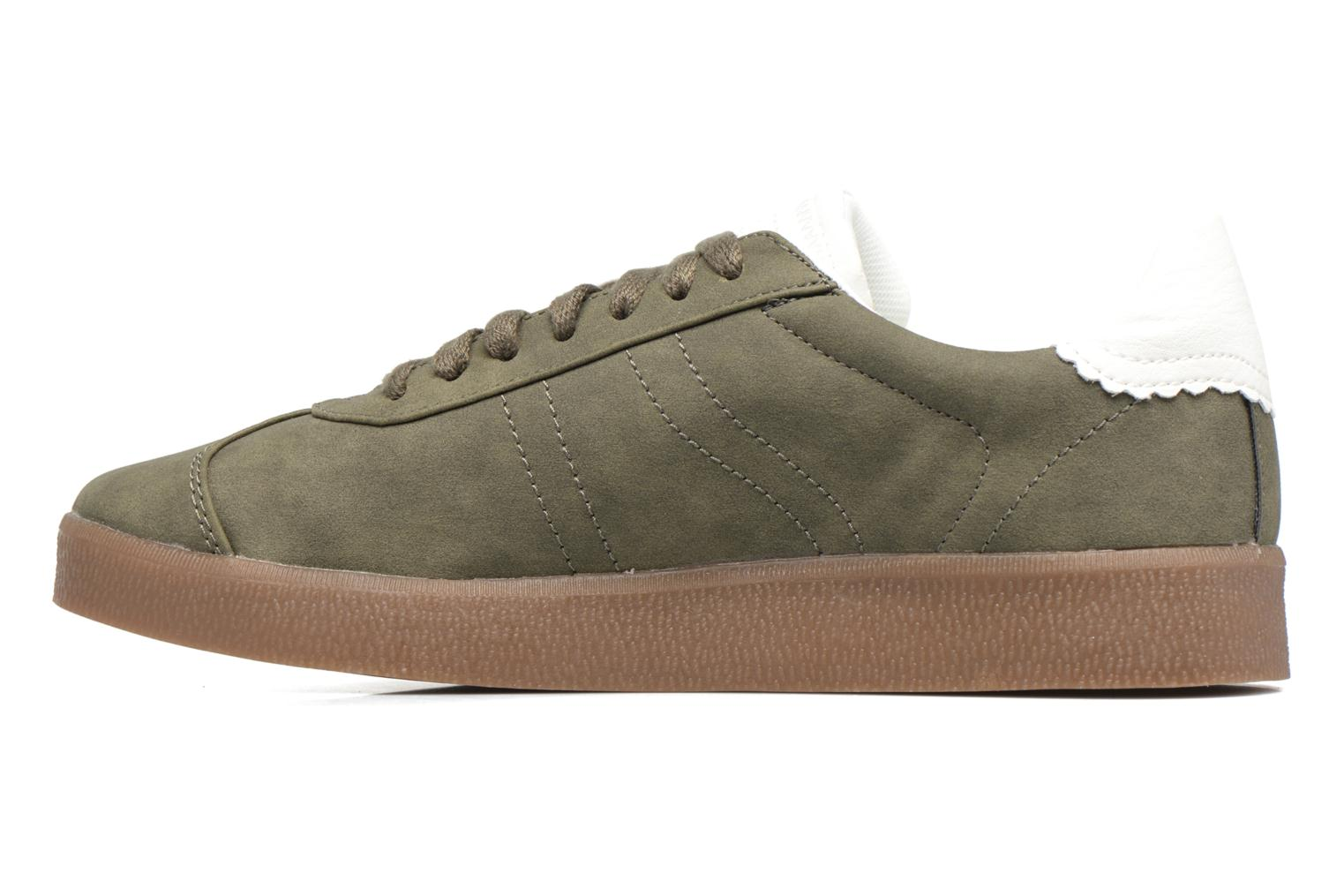 Trainers Esprit GWENETH Green front view